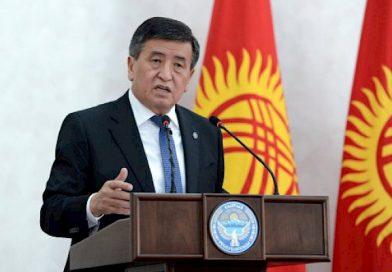 Жээнбеков: Кыргыз тили — мамлекеттүүлүгүбүздүн белгиси, көөнөрбөс руханий казынабыз