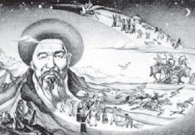 Алыкул Осмоновдун Сагымбай жана Ак Молдо (Ыбрайым Абдырахманов) жөнүндө публицистикалары