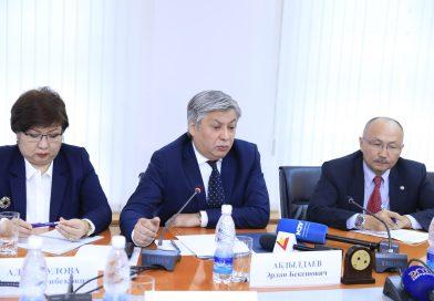 Министр Эрлан Абдылдаев: «Дүйнөнүн 153 мамлекети менен дипломатиялык алака-катышыбыз бар»