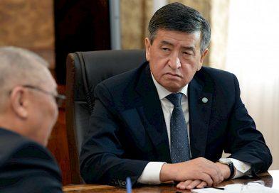 Президент өлкөнүн акыйкатчысы Токон Мамытовду кабыл алды