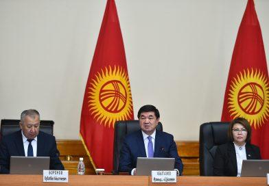 Премьер-министр Мухаммедкалый Абылгазиев: «Аймактарды өнүктүрүүгө 2 млрд. сом каралды»