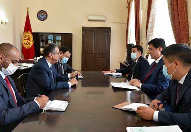 Марипов Сауд Аравиянын Кыргызстандагы элчисин кабыл алды